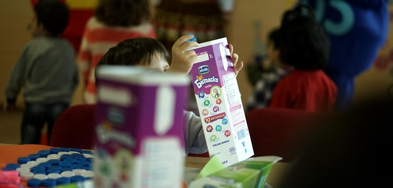 Бимилк го одбележа Светскиот ден на детето со едукативна работилница во СОС Детско село
