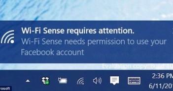Wi-Fi Sense - Microsoft Windows 10