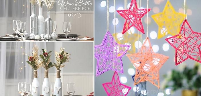 Направи сам: 9 идеи за новогодишни украси