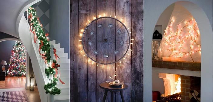 7 идеи како да ги искористите сијаличките во домот за да изгледа како новогодишна бајка